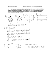 Written Homework 8 Solutions