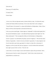Democracy Mod 2 Position Paper