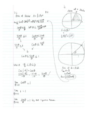 Calculus1 Notes 2 Area of Sector