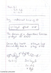 Notes on Logarithms