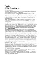 File Systems.docx