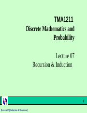 49979_Topic 6 Recursion & induction