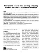 Network Relationship