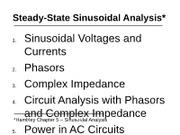 ME340 MECHATRONICS_Chapter 5 - Sinusoidal Analysis Part I_Lecture 8
