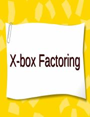 X_Box_Factoring_ppt