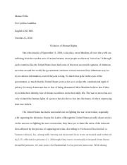 reader response essay two reader response english write 4 pages 1st draft