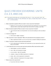 Quiz 2 - Review