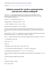 Solutions manual for wireless communication and network william stallings49-9