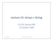 lecture15-arrays+String