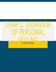 C1 personal selling