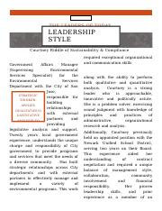 Week 4 Leadership Style Interview.docx
