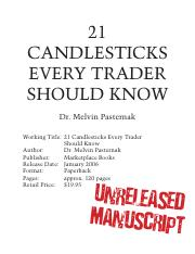 Candlesticks Every Trader Should Know (2006)