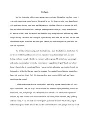 Essay On How I Broke My Ankle