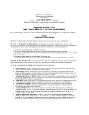 1. Republic Act 7394 or Consumer Act of the Philippines.pdf