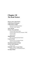 Solutions to chapter 10