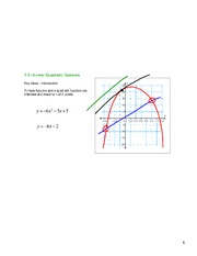 Lesson7-Linear Quadratic Systems