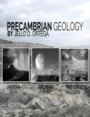 1Precambrian-Geology