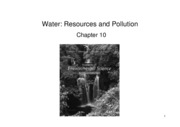 L23-25+Water resources and  pollution (B&W)