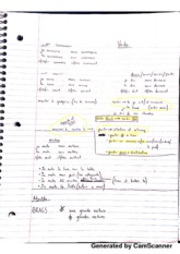 Notes on Verbs