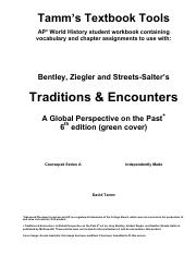 Traditions And Encounters A Brief Global History Pdf