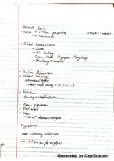 Bio research concentration notes