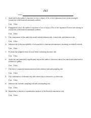 AUDIT Chapter 3 Test with Answers.docx