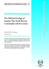 Woo-Cumings _2002__The Political Ecology of Famine