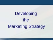 2 -  For BB -  Mktg strategy and planning (1)