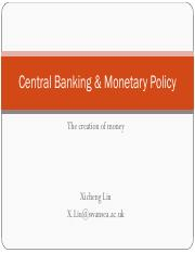 Central Banking and Monetary Policy.pdf
