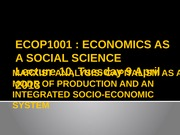 Lecture 10 [Marxist analysis_Capitalism as a mode of production]