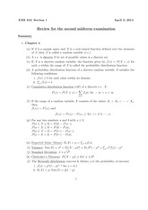 AMS310_F2014_ReviewMidterm2