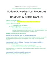 Module 5 Mechanical Properties II Report template_02