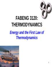 4 - 1st Law of Thermodynamics-1