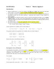 Notes 4 Basic Matrix Operations1