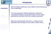Class 06 - Weibull Distribution in Mainteanance Applications