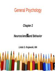 Ch 2  - Neuroscience and Behavior with Audio Note