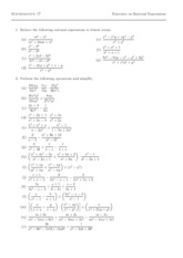 Math17Exercises(RationalExpressions)