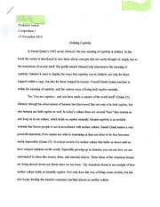 Defining Captivity Essay