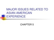 MAJOR ISSUES RELATED TO AAEXPERIENCE-1.CHP 5
