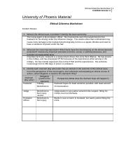 worksheet ethics and material ethical dilemma