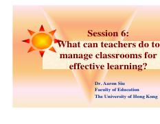 Session 6-Manage Classroom for Effective Learning.pdf