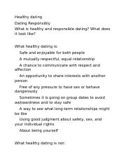 Healthy dating.docx