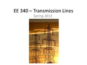 Transmission Lines Review