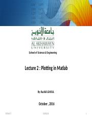 MatlabLect2.ppt