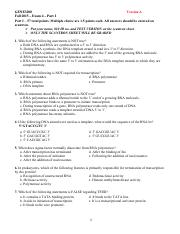 GENE3200-Bedell-Exam4Part1-Fa2015