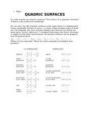 Quadric Surfaces.docx