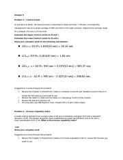 Chapter 5 Assignment Control Limits PCI(1).docx