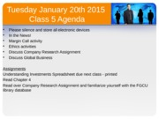 Intro to Business Class 5