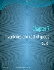 Chapter 7-Inventory and cost of goods sold - Problems.pptx