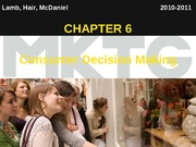 Chapter 6_Consumer Decision Making
